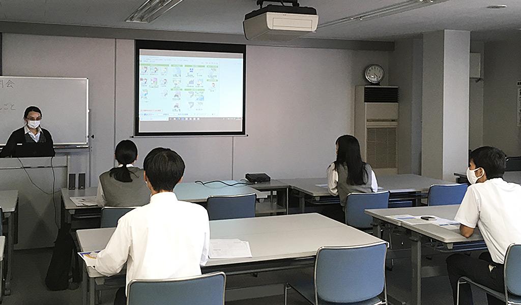 事務所見学会に高校の生徒さんが参加してくれました。 イメージ